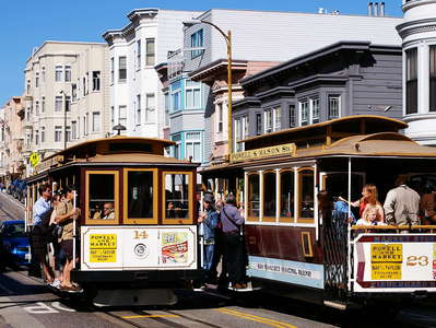 San Francisco  |  Cable cars