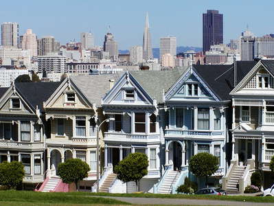 San Francisco  |  Alamo Square