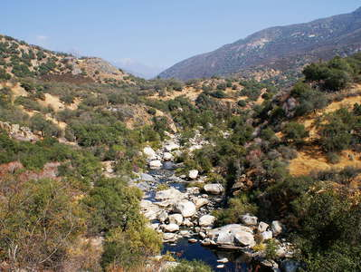 Kaweah River Valley