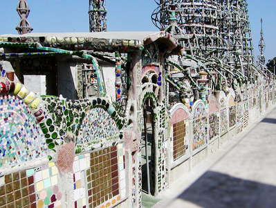 Los Angeles  |  Watts Towers