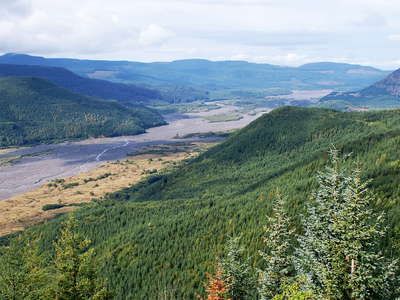 Toutle River Valley