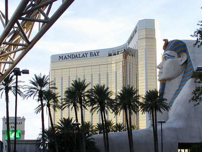 Las Vegas  |  Luxor and Mandalay Bay