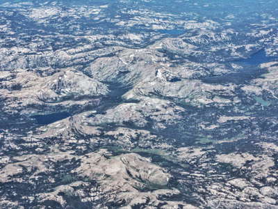 Sierra Nevada with Mokelumne Wilderness