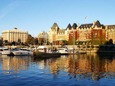 Victoria  |  Inner Harbour and The Empress Hotel