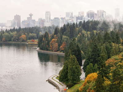 Vancouver  |  Stanley Park and CBD