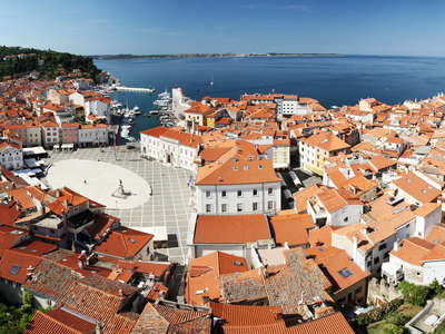 Piran  |  Panoramic view
