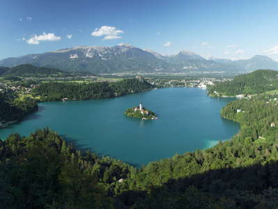 Lake Bled panorama