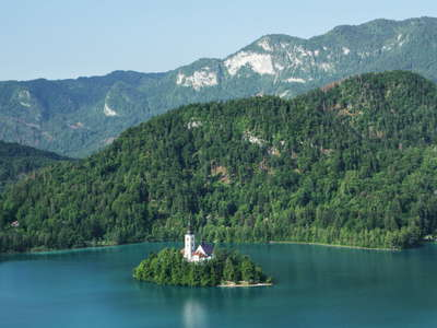 Lake Bled with Bled Island