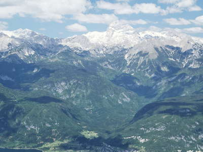 Julian Alps with Triglav