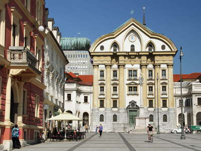 Ljubljana  |  Church of the Holy Trinity