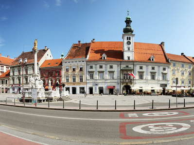 Maribor  |  Main Square panorama