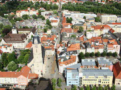Jena  |  Historic centre