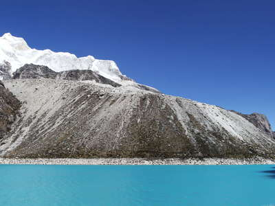 Laguna Parón with Nevado Huandoy