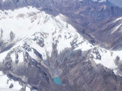 Cordillera Vilcabamba with Nevado Pumasillo