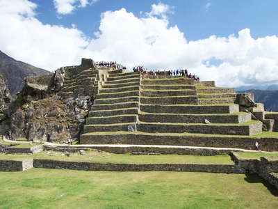 Machu Picchu  |  Upper town with terraces