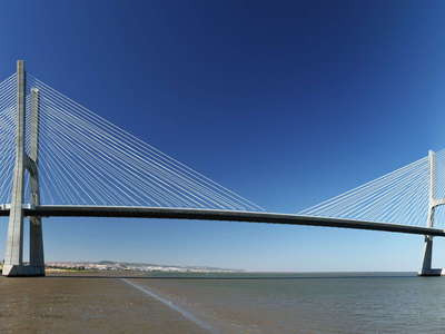 Lisboa  |  Panoramic view of Ponte Vasco da Gama