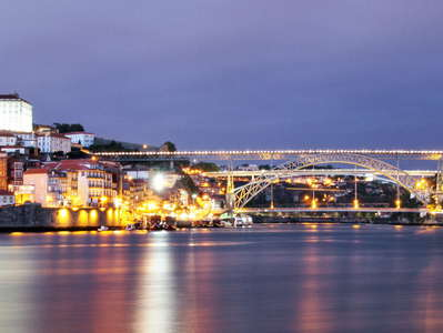 Porto  |  Rio Douro with bridges
