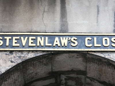Edinburgh  |  Stevenlaw's Close