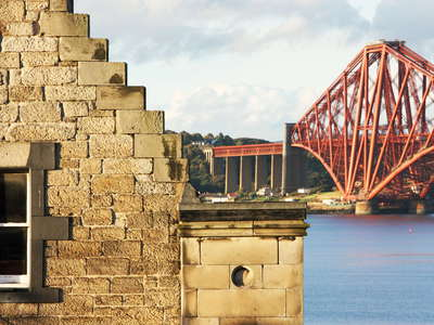 South Queensferry with Forth Bridge