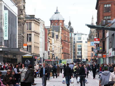 Glasgow  |  Argyle Street and Trongate