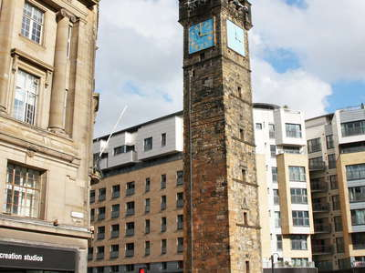 Glasgow  |  Glasgow Cross with Tolbooth Steeple