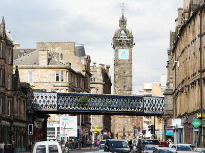 Glasgow  |  Saltmarket with Tolbooth Steeple