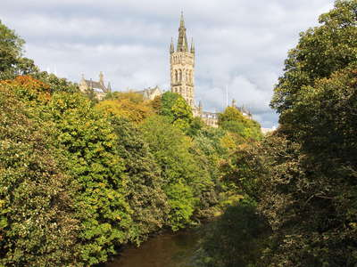 Glasgow  |  Kelvingrove Park with University