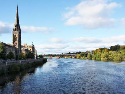 Perth with River Tay