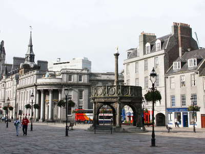 Aberdeen  |  Castlegate with Mercat Cross