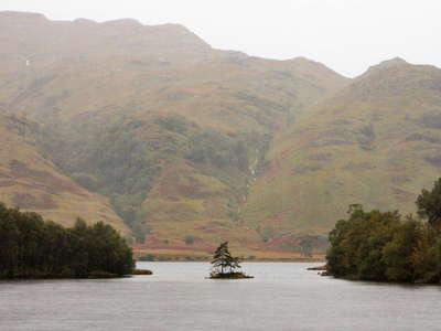 Loch Eilt with islet