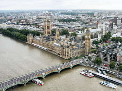 London  |  Westminster with Houses of Parliament