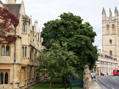 Oxford  |  Magdalen College
