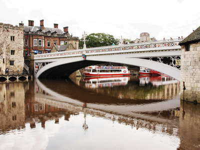 York  |  River Ouse with Lendal Bridge