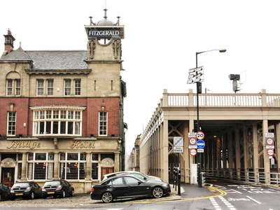 Newcastle  |  Bridge Hotel with High Level Bridge
