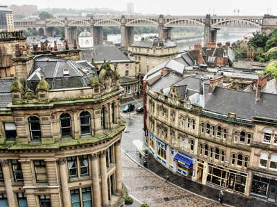 Newcastle  |  Side and High Level Bridge