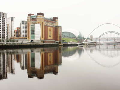 Gateshead  |  River Tyne with Quayside