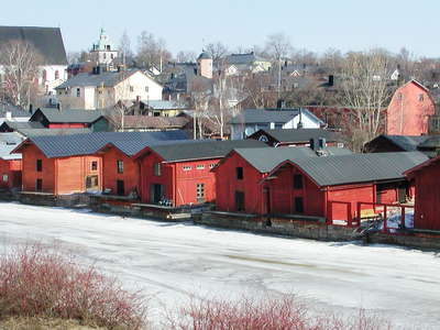 Porvoo  |  Porvoonjoki and historic centre
