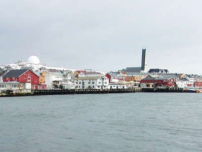Vardø with harbour