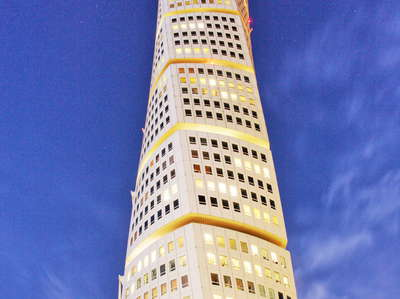 Malmö  |  Turning Torso at night