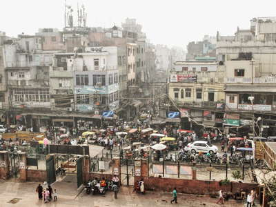 Delhi  |  Urdu Bazar and Matia Mahal