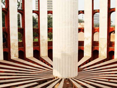 New Delhi  |  Jantar Mantar with Rama Yantra