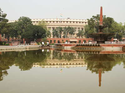 New Delhi  |  Parliament Building