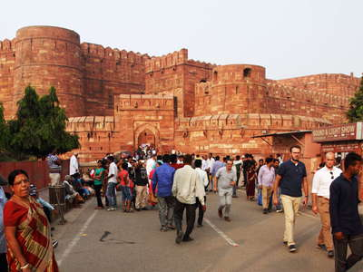 Agra Fort  |  Main entrance