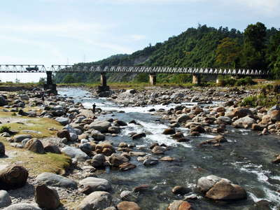 Dudhia  |  Balason River with Dudhia Bridge
