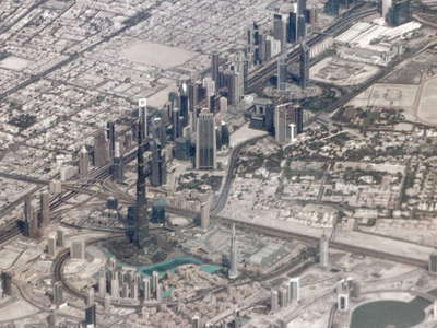Dubai  |  Downtown Dubai and Sheikh Zayed Road
