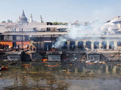 Kathmandu  |  Pashupatinath Temple with Bagmati River