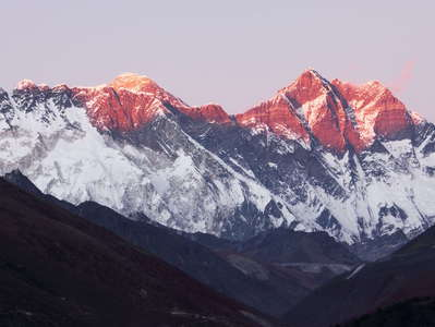 Khumbu Himal  |  Mt. Everest and Lhotse