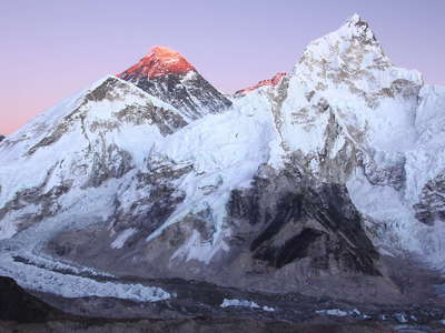 Khumbu Himal  |  Mt. Everest and Nuptse west face