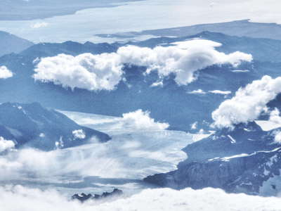 Glaciar Perito Moreno from the air