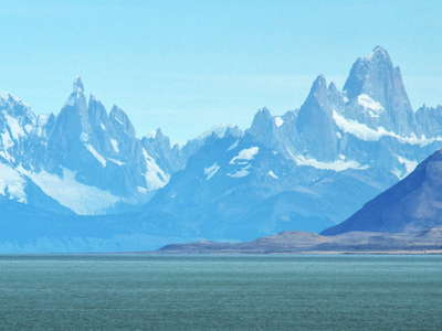 Lago Viedma with Cerro Torre and Monte Fitz Roy
